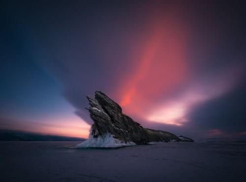 Dragon of Lake Baikal Photo by Zhu Xiao — National Geographic Your Shot