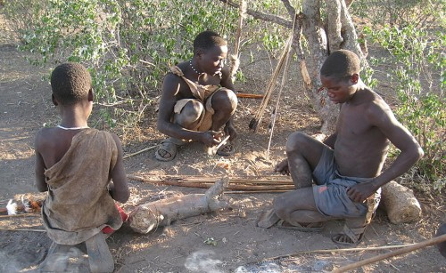 First Look at the Microbes of Modern Hunter-Gatherers
