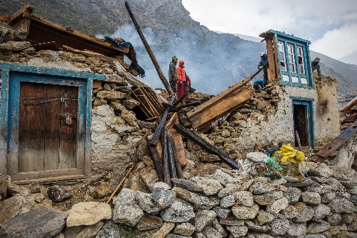 10 Pictures You Haven't Seen Reveal Destruction Deep In Nepal