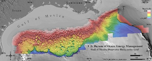 New Seafloor Map Reveals How Strange the Gulf of Mexico Is