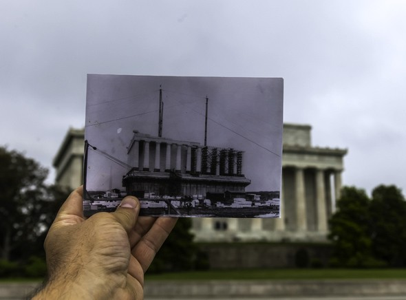 Then + Now: The Lincoln Memorial