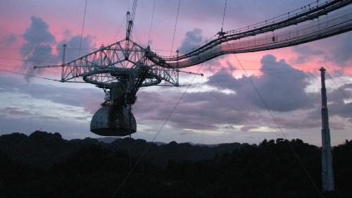 Arecibo Observatory Detects Mysterious, Energetic Radio Burst