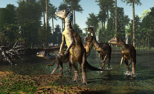 Sparkly, opal-filled fossils reveal new dinosaur species
