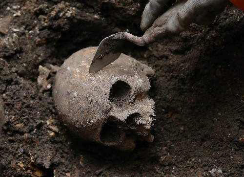 London Dig Uncovers Roman-Era Skulls