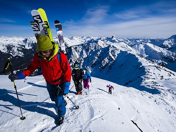 What It Takes to Climb and Ski 100K Vertical in a Month