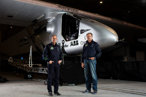 Swiss Adventurer Launches Quest to 'Fly Forever'