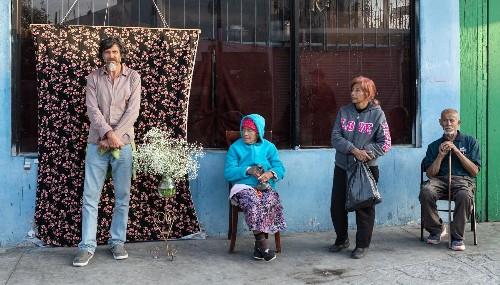 In Tijuana, a street studio attracts migrants and locals