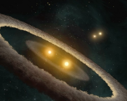 Multiple-Star Birth Revealed in Stellar Nursery