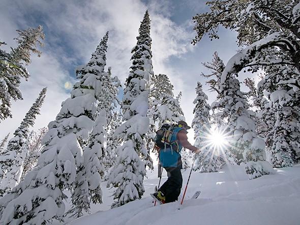 Trekking to a Backcountry Skiing Eden