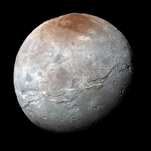 Charon: A Dark Moon With a Dark Past