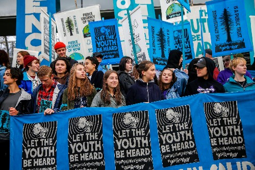 Kids suing governments about climate: It's a global trend