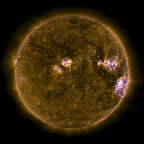 Solar storms can be even worse if you live near certain rocks