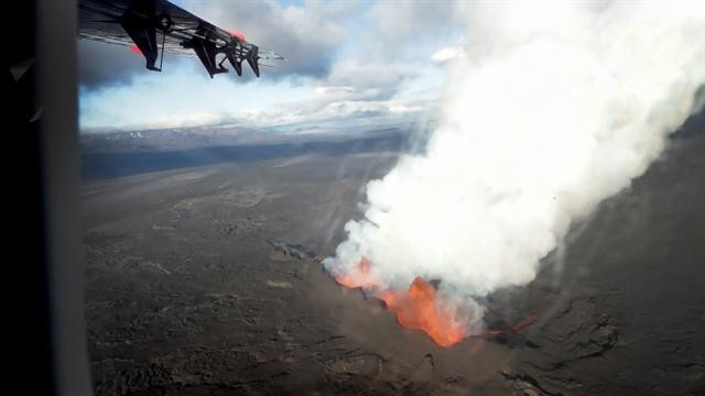 Tour a Volcano from Above and Below