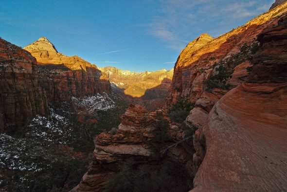 Hiking Zion National Park