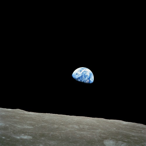 We saw Earth rise over the moon in 1968. It changed everything.