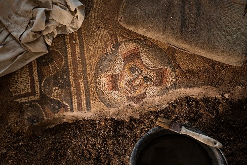 Surprising Mosaics Revealed in Ancient Synagogue in Israel