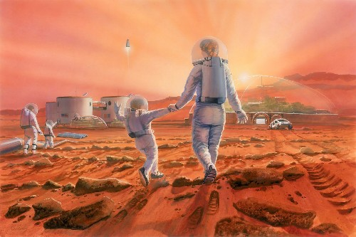 Can humans have babies on Mars? It may be harder than you think.