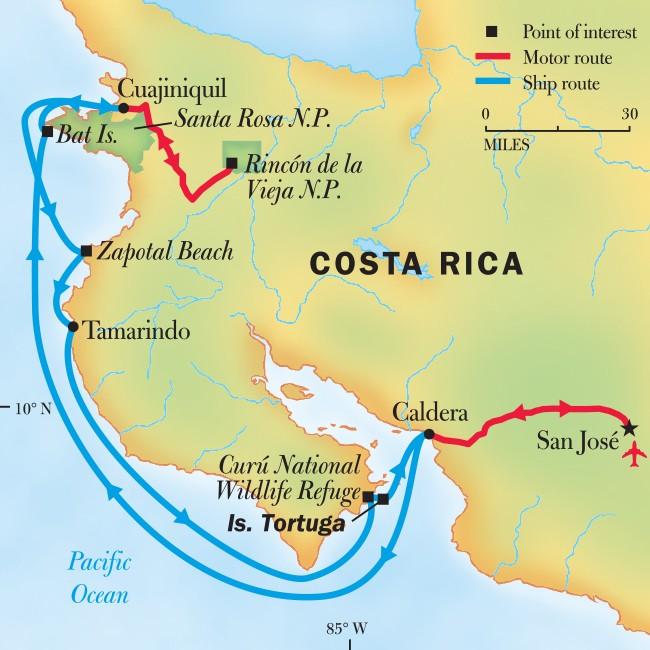 Wild Costa Rica Escape: Guanacaste's Coral Reefs and Volcanic Peaks