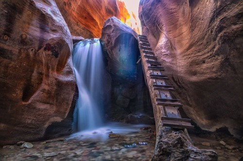 Light & Water Canyon Photo by Anca Apostoaei — National Geographic Your Shot