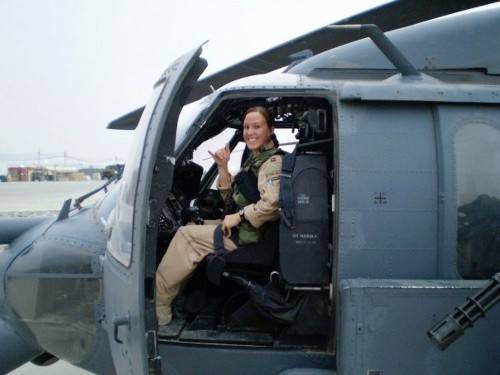 Female Helicopter Pilot Took on the Taliban—and the Pentagon