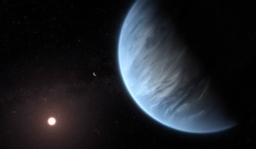 Water found on a potentially life-friendly alien planet