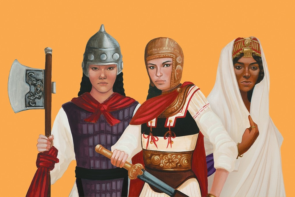 9 women warriors through history