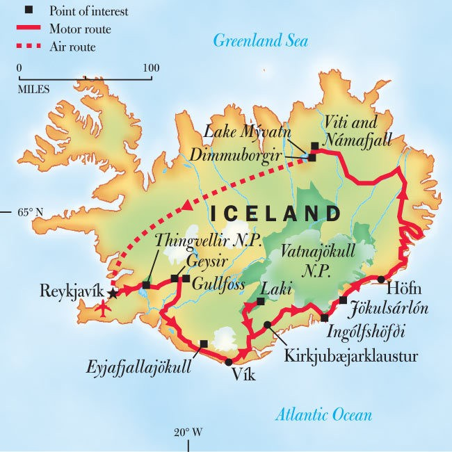 Iceland Adventure Tours: Hiking Trips To Iceland