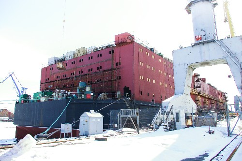 Russia Floats Plan for Nuclear Power Plants at Sea