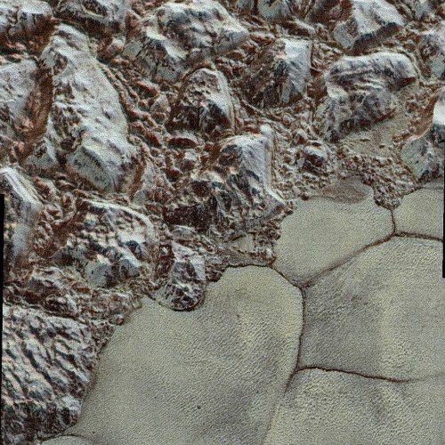 Highest-Res Pluto Images Reveal A Complex, Beautiful World