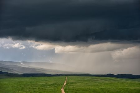 Storm Setting in Wyoming Photo by Michelle Olenick — National Geographic Your Shot