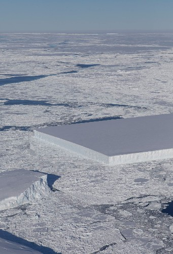 This iceberg is perfectly rectangular—here's why