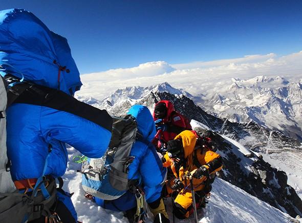 Everest - Magazine cover