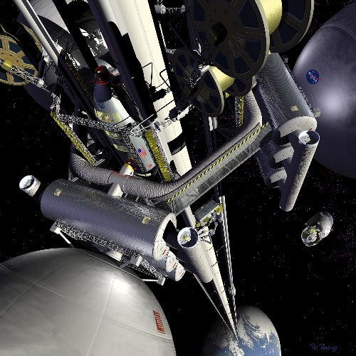 Going Up: Could Partial Space Elevators Take Us Into Space?