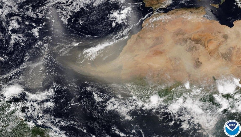 Saharan dust is bad for health. But it's also crucial to Earth's biology and climate