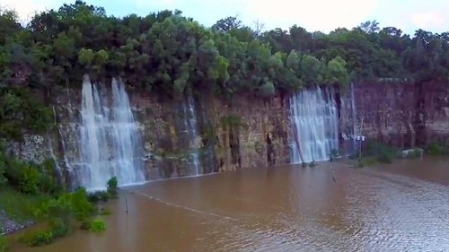 See the Stunning Waterfalls Created by Historic Floods