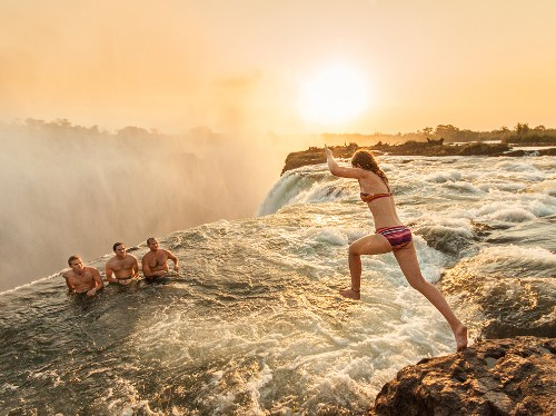 World Heritage Site Pictures: Victoria Falls