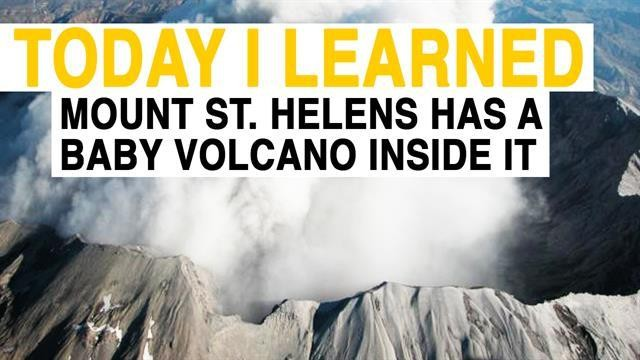 Watch Mount St. Helens giving birth to 'baby volcano'