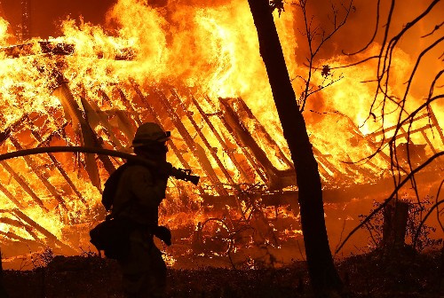 How catastrophic fires have raged through California