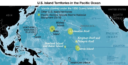 Bird Droppings Led to U.S. Possession of Newly Protected Pacific Islands