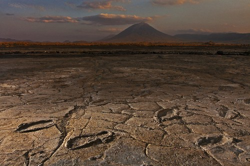 Treasure Trove of Ancient Human Footprints Found Near Volcano