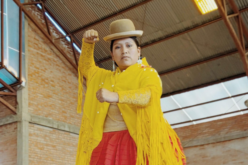 Meet the women wrestling their way to equality in the High Andes