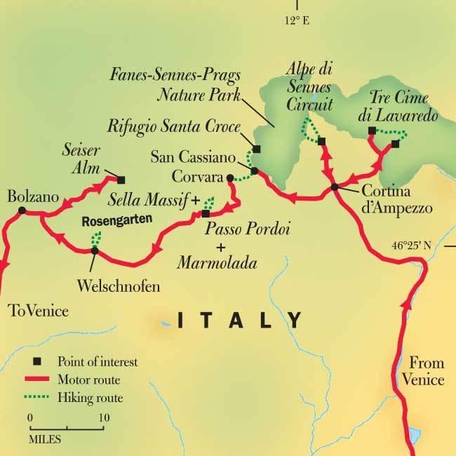 Hiking Italy's Dolomites