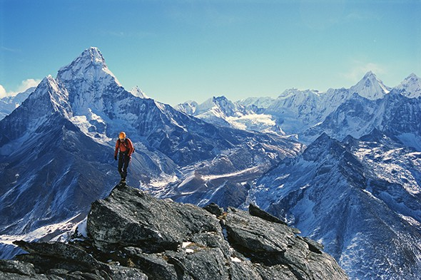 """An """"Old Bold"""" Climber Tackles a Bold New Route in Nepal"""