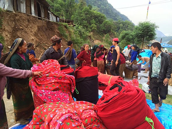 Climbers' Relief Strategy Brings Jobs, Aid to Nepal's Remote Villages