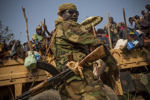 "Photographer: Central African Republic ""Falling Apart"" in ""Horrific Violence"""