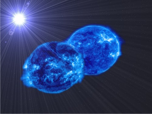 Astronomers Spy Monster Star Merger on the Move