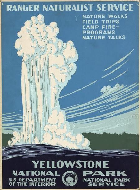 See Ten Vintage U.S. Parks Posters
