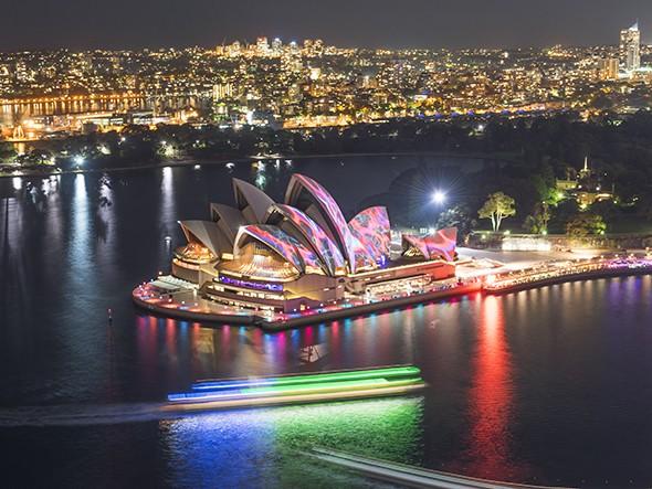 Instagram of the Month: Vivid Sydney