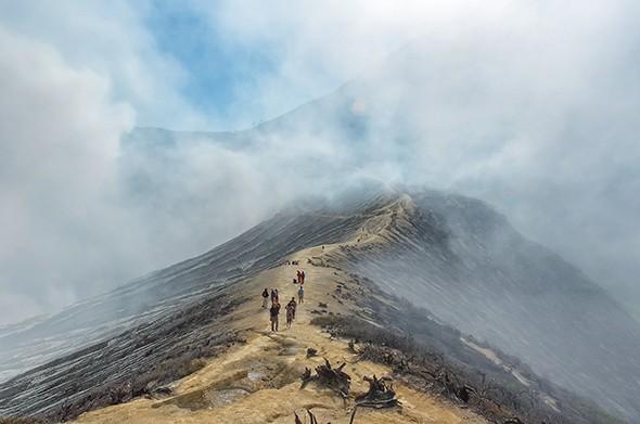 Instagram of the Month: Java's Sulfur Volcano