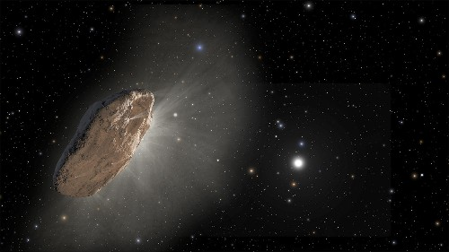 Bizarre comet from another star system just spotted